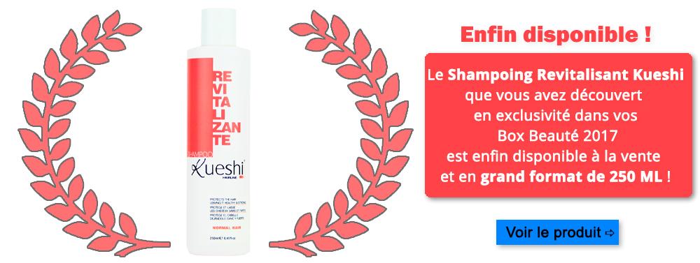 Shampoing Revitalisant Kueshi