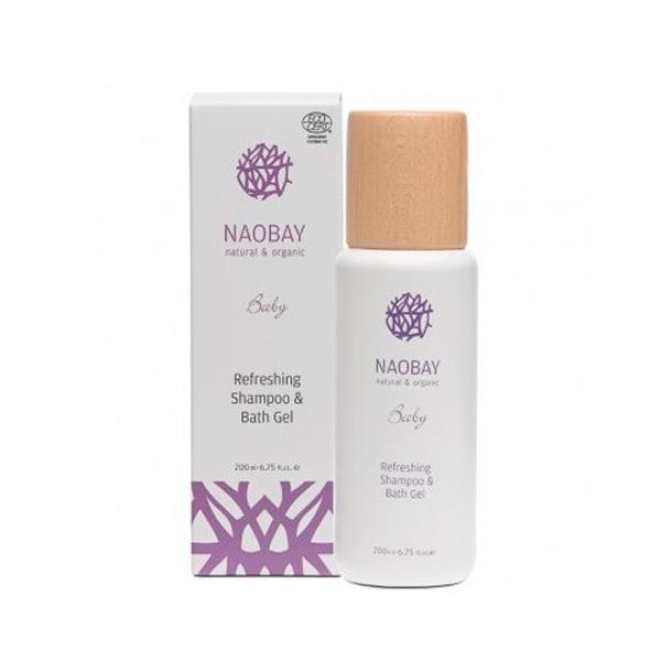 Shampoing & Gel de Bain Biologique Bébé NAOBAY - 200 ml