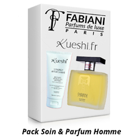 Pack Soin & Parfum Homme - Après Rasage Kueshi & Parfum Fabiani