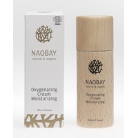 CREME OXYGENETING BIOLOGIQUE HYDRATANTE ET OXYGENANTE NAOBAY 50ML