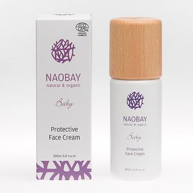 Crème-ProtectriceVisage-Biologique-Bébé-NAOBAY-100-ml
