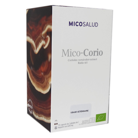 Mico-Corio - Reishi & Cordiceps - Bio - 70 gélules - 620 mg