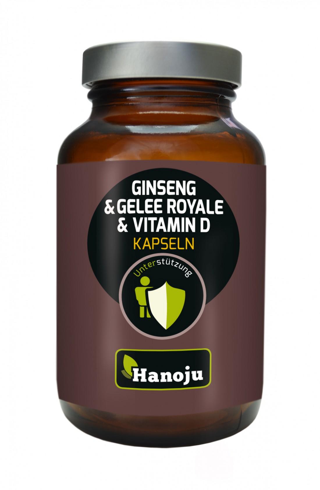 Gelée Royale + Ginseng + Vitamine D