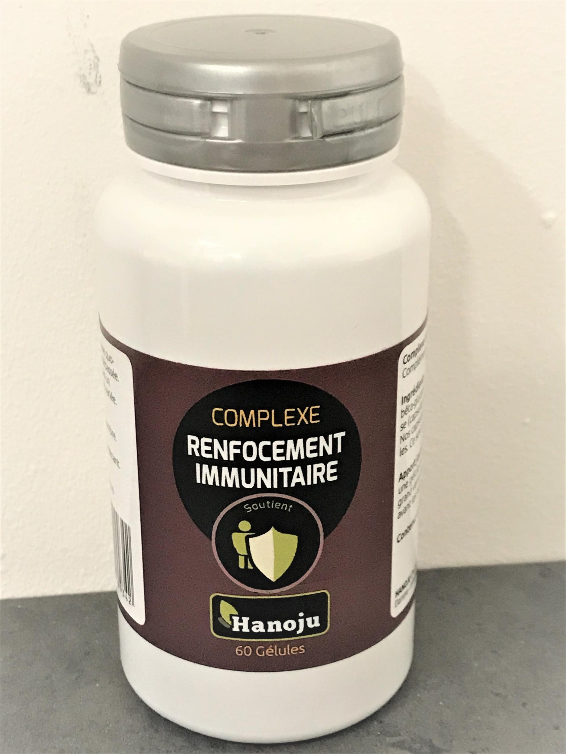 Complexe de renforcement immunitaire - 60 gélules à 601 mg