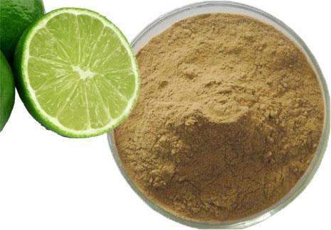 Citron vert bio entier en poudre