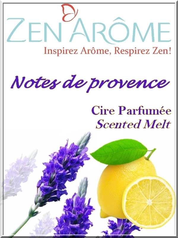 cire parfum notes de PROVENCE