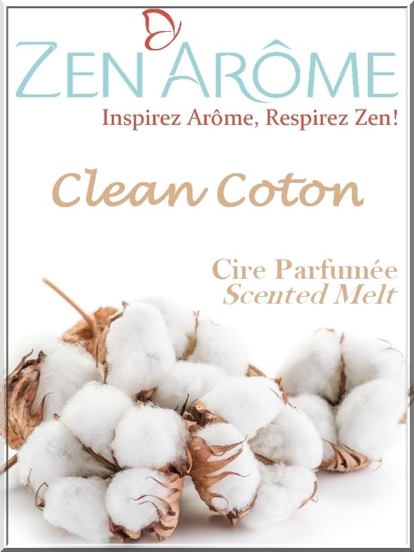 Cire parfum Clean Coton