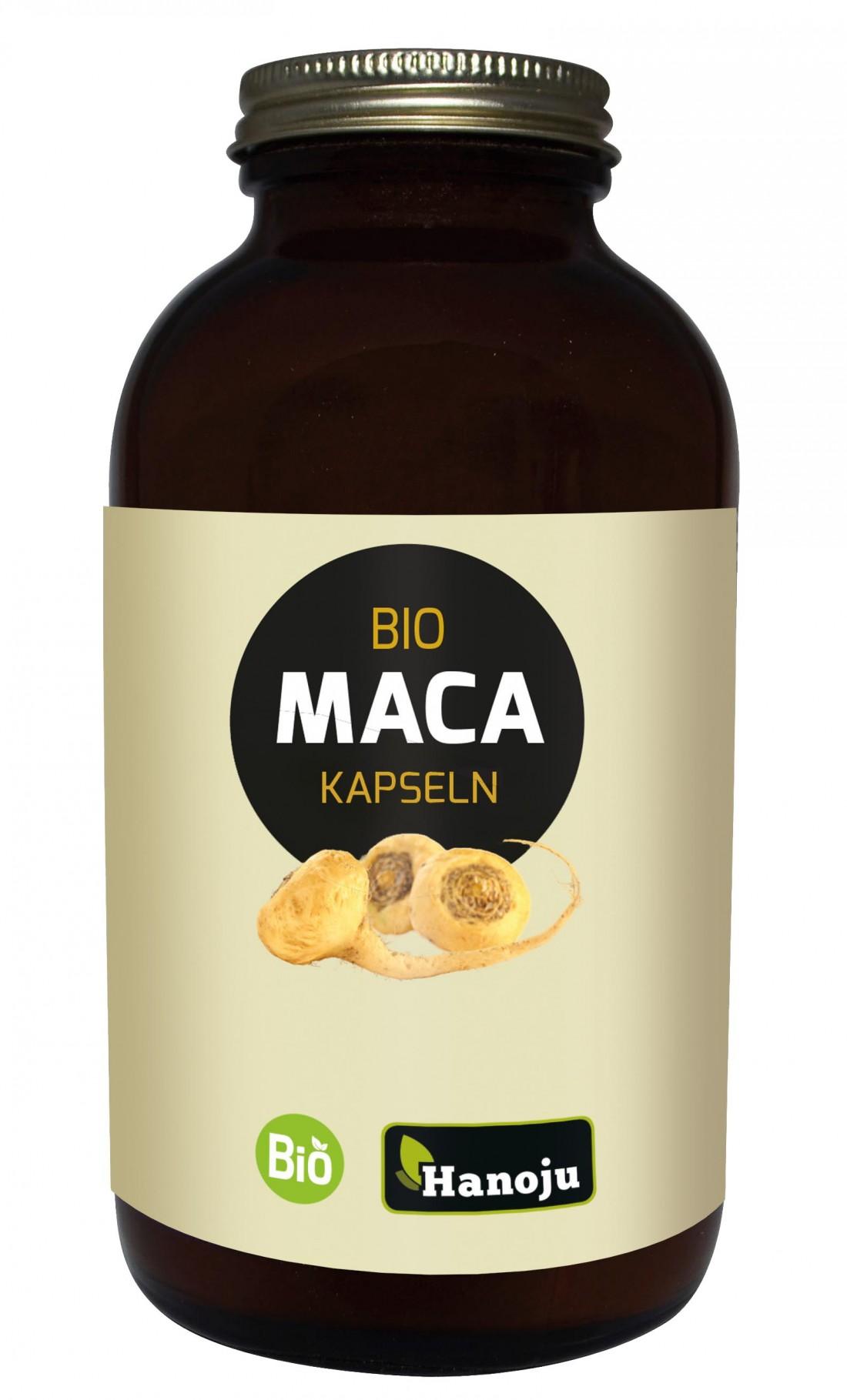 Maca bio 4:1 - Lepidium Meyenii - 500mg - 300 gélules