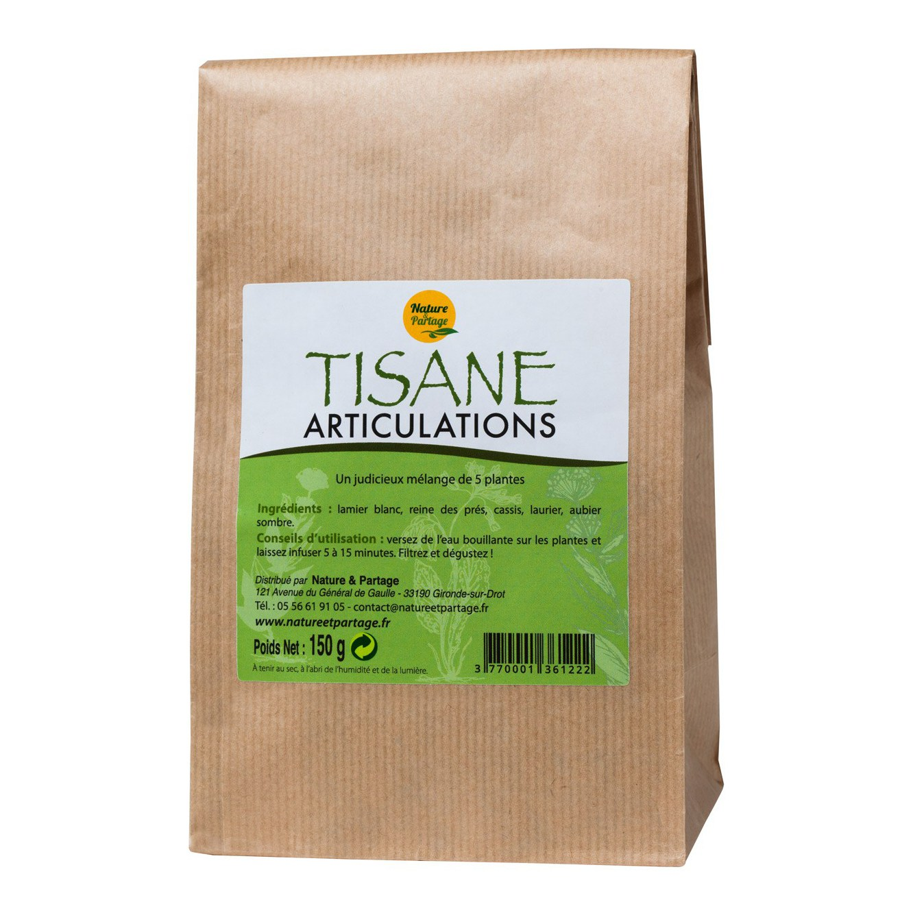 Tisane articulations - 150 g