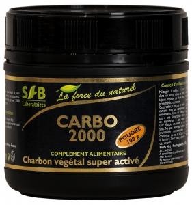 Charbon végétal super activé en poudre - 100 g