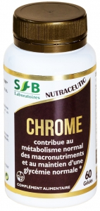 CHROME 300 mg - 60 gélules