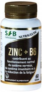 ZINC + B6 260 mg - 60 gélules