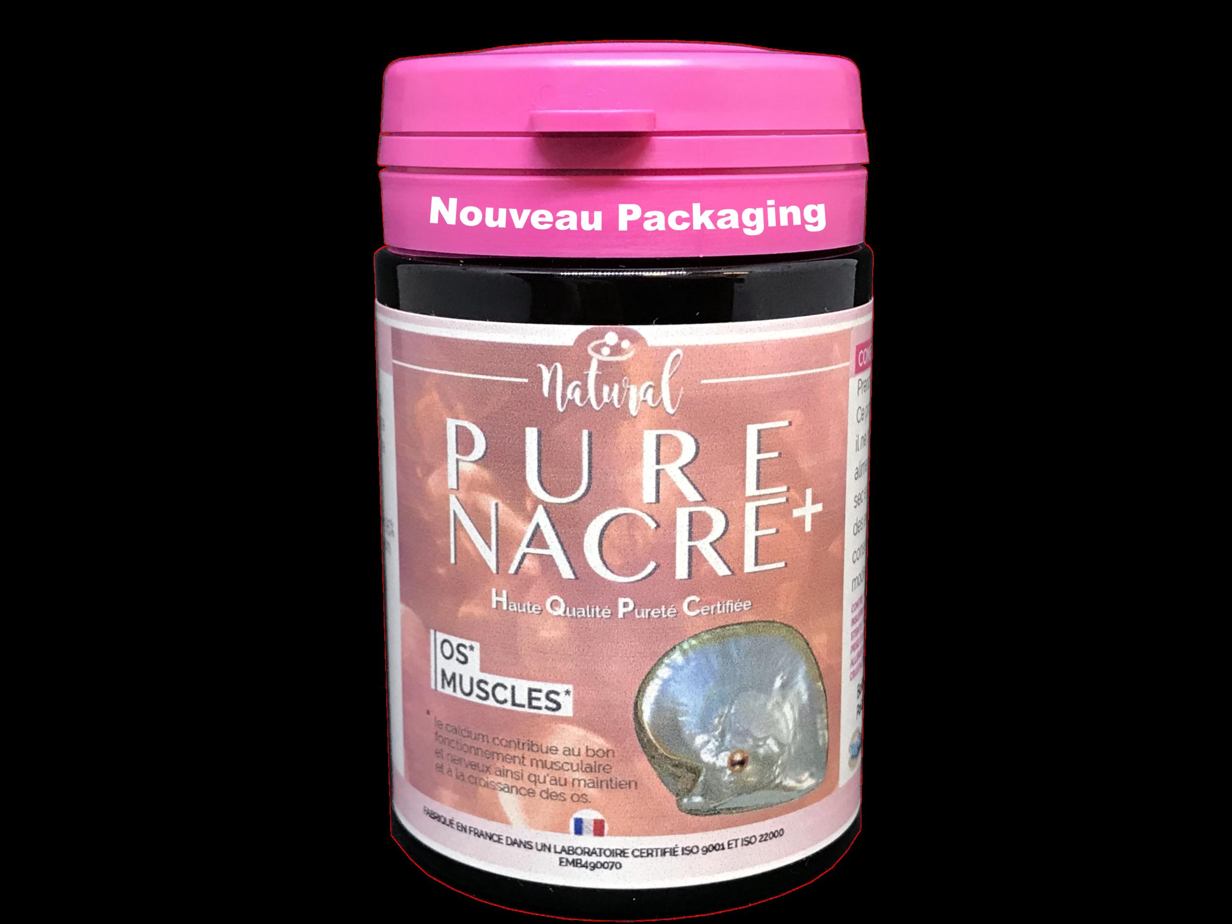 Natural Pure Nacre - HQPC - 30 gélules