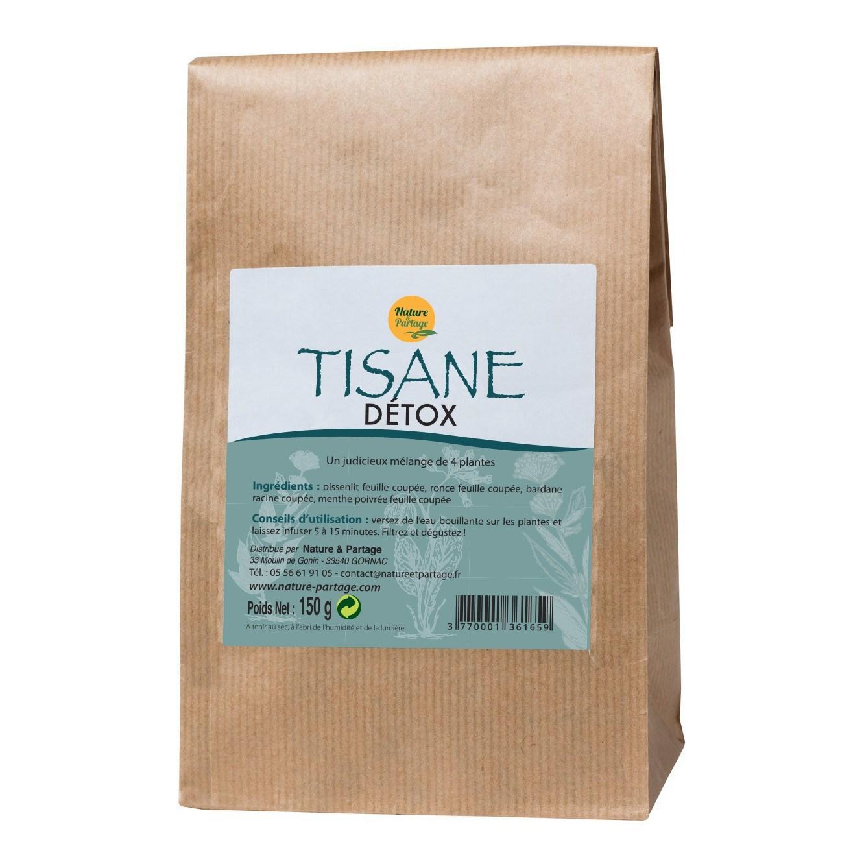 Tisane Détox 4 plantes - 150 g