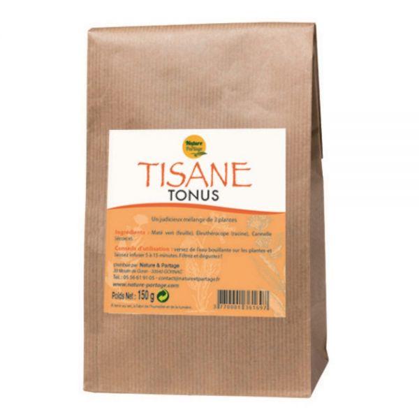 Tisane Tonus 3 plantes - 150 g