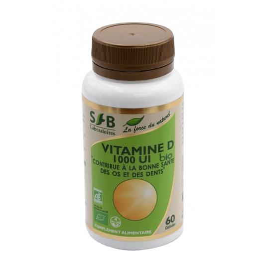 Vitamine D 1000 UI BIO - 60 Capsules SFB
