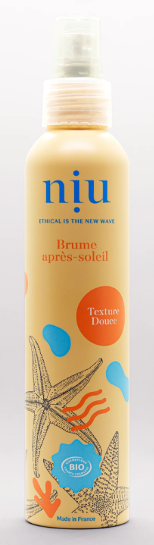 Brume Aprés-Soleil Bio - NUI - Made in France - 100 ml