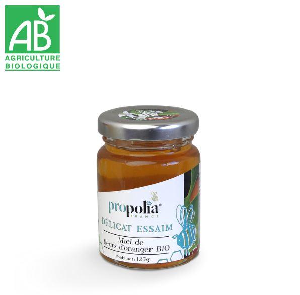Miel de Fleur d\'Oranger BIO - 125 g - Propolia