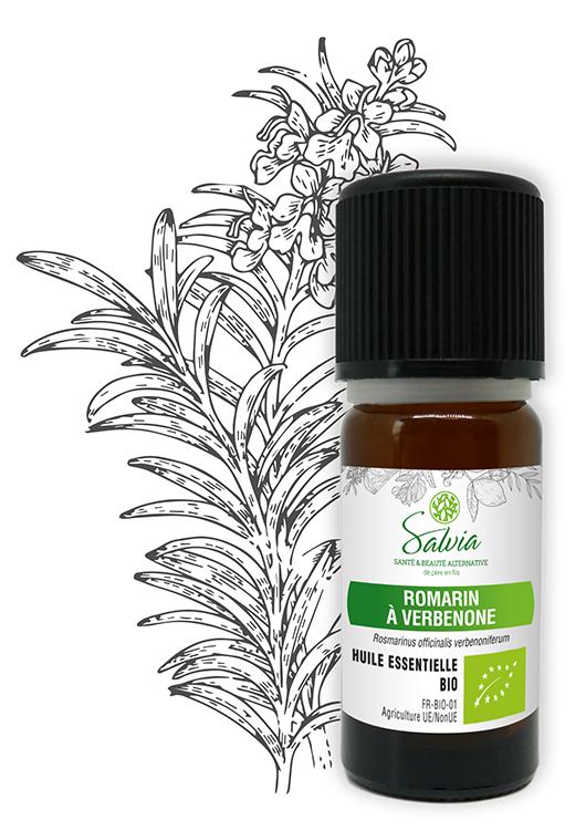 Huile essentielle au Romarin à Verbénone Bio - 10 ml