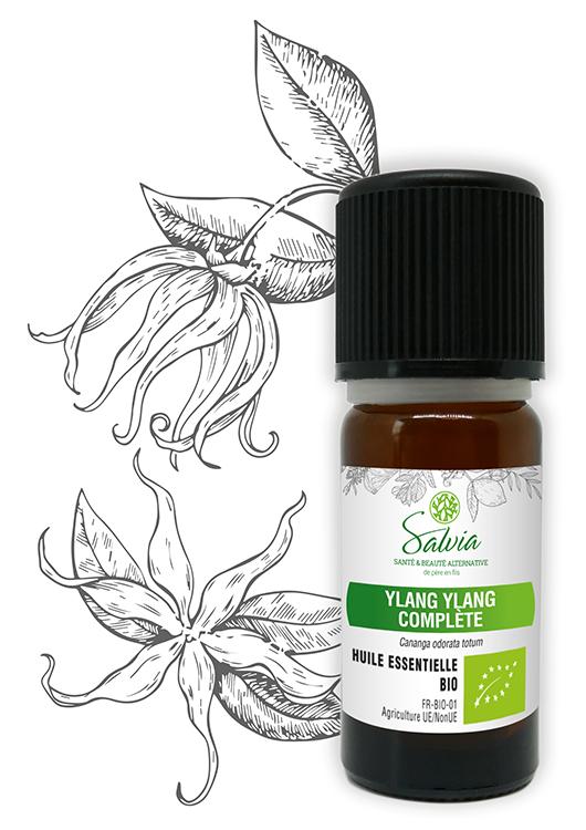 Huile essentielle de Ylang-Ylang compléte Bio - 10 ml