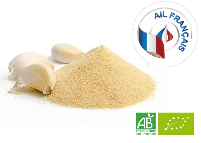Ail en poudre Bio et Français - 250 g