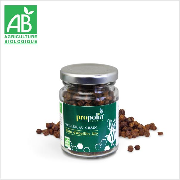 Pain d\'Abeille Bio - Made in France - 50 g - Propolia