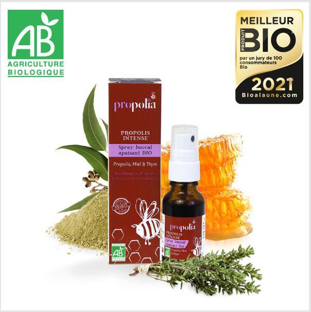 Spray Buccal apaisant Bio - 20 ml - Propolia