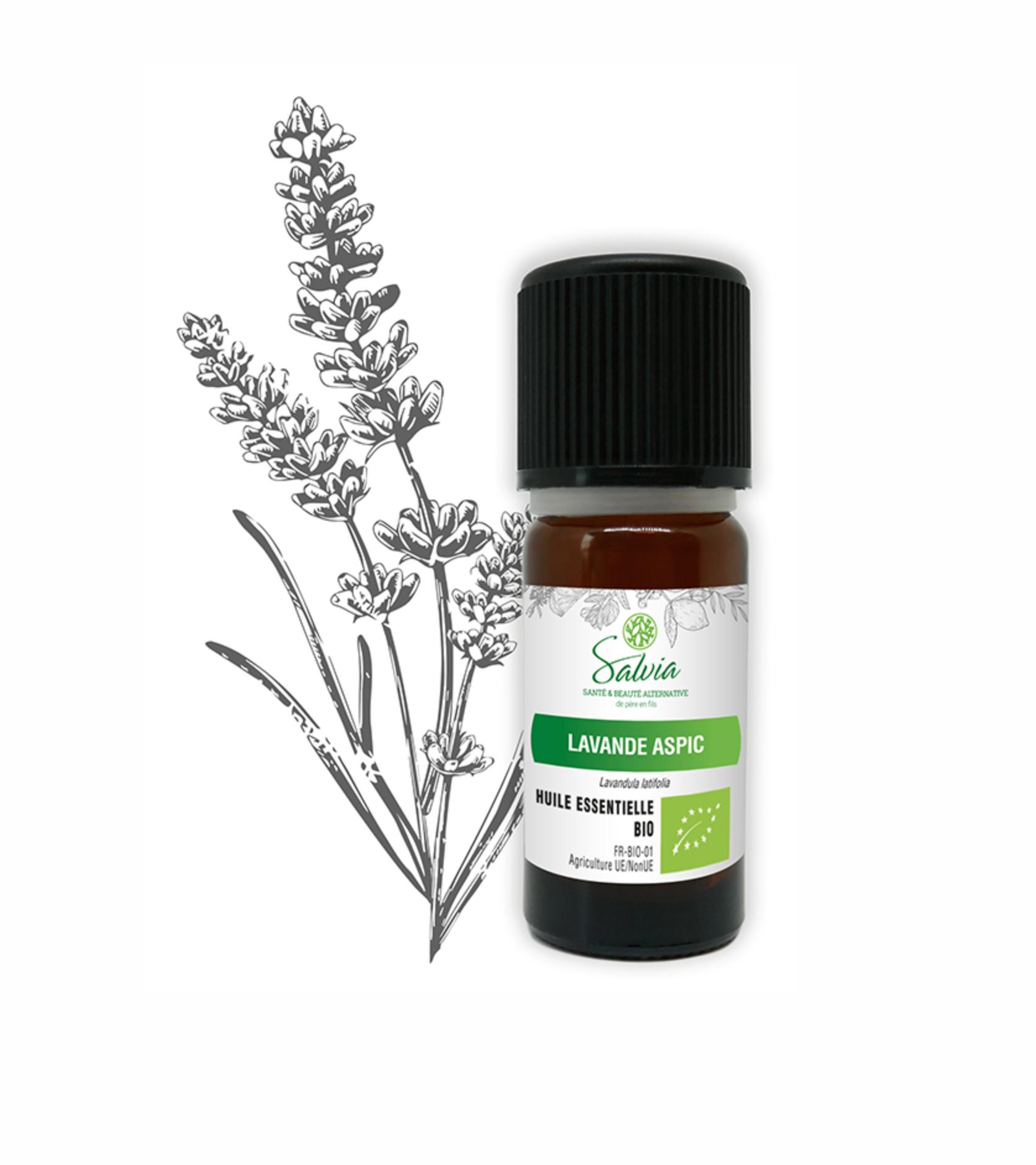 Huile essentielle de Lavande Aspic Bio - 10 ml