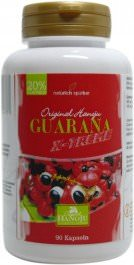 Guarana X-treme - 20% caféine - 90 gélules - 500 mg