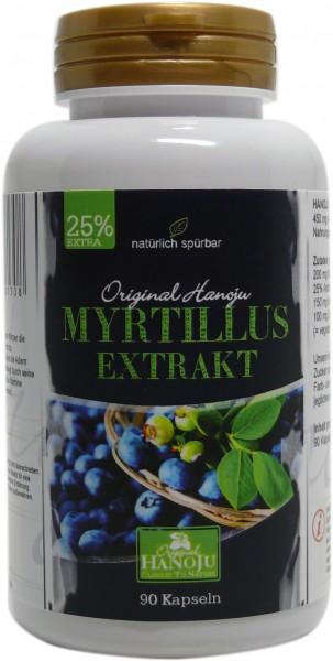 Myrtilles (extrait) - 90 gélules - 450 mg