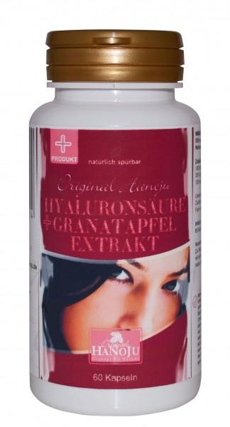 L\'acide hyaluronique + extrait de grenade - 550 mg - 60 gélules