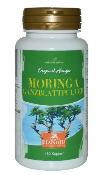 Feuille de Moringa oleifera (poudre) BIO - 180 gélules - 450 mg