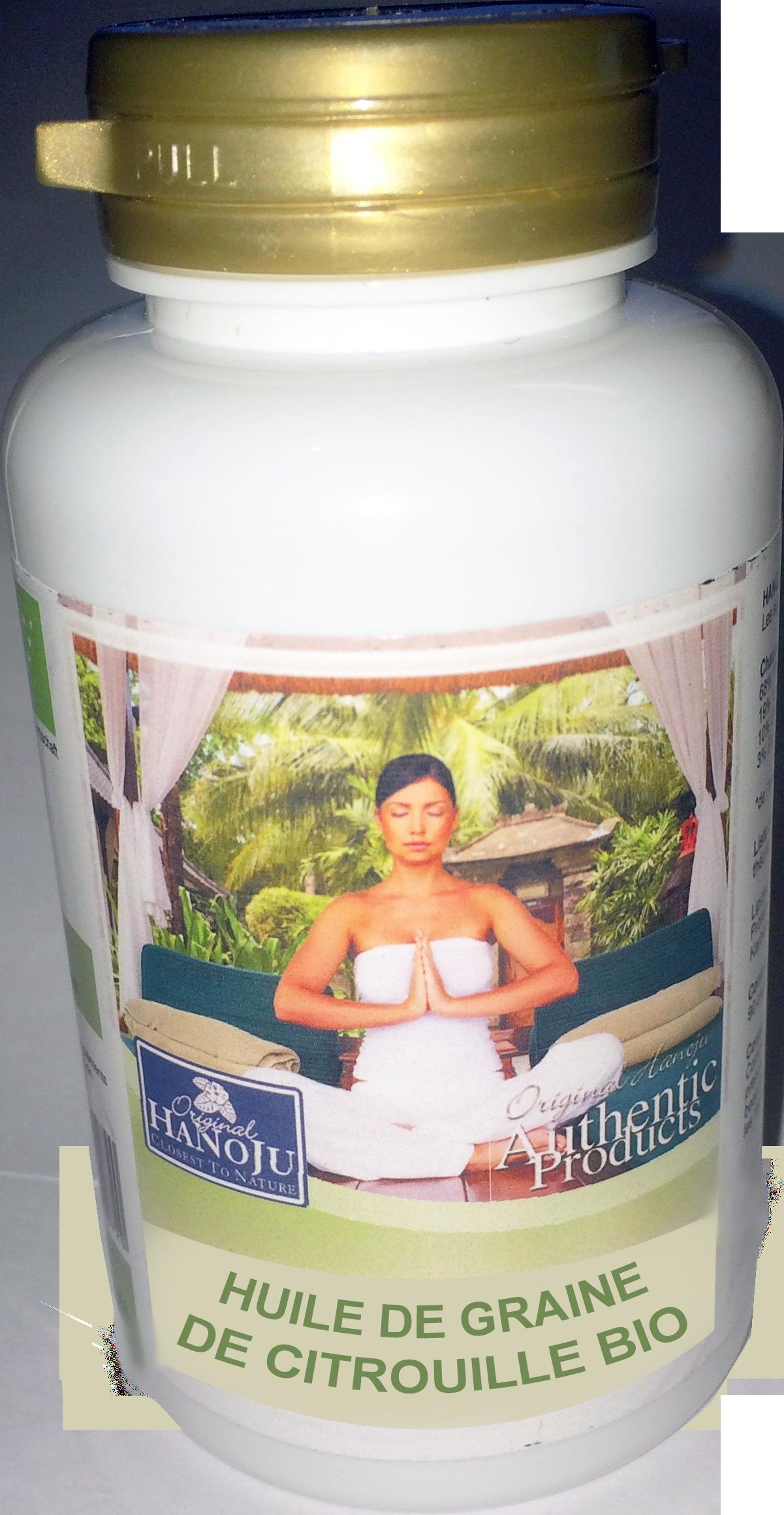 Huile de Citrouille Bio - 90 gélules - 500 mg