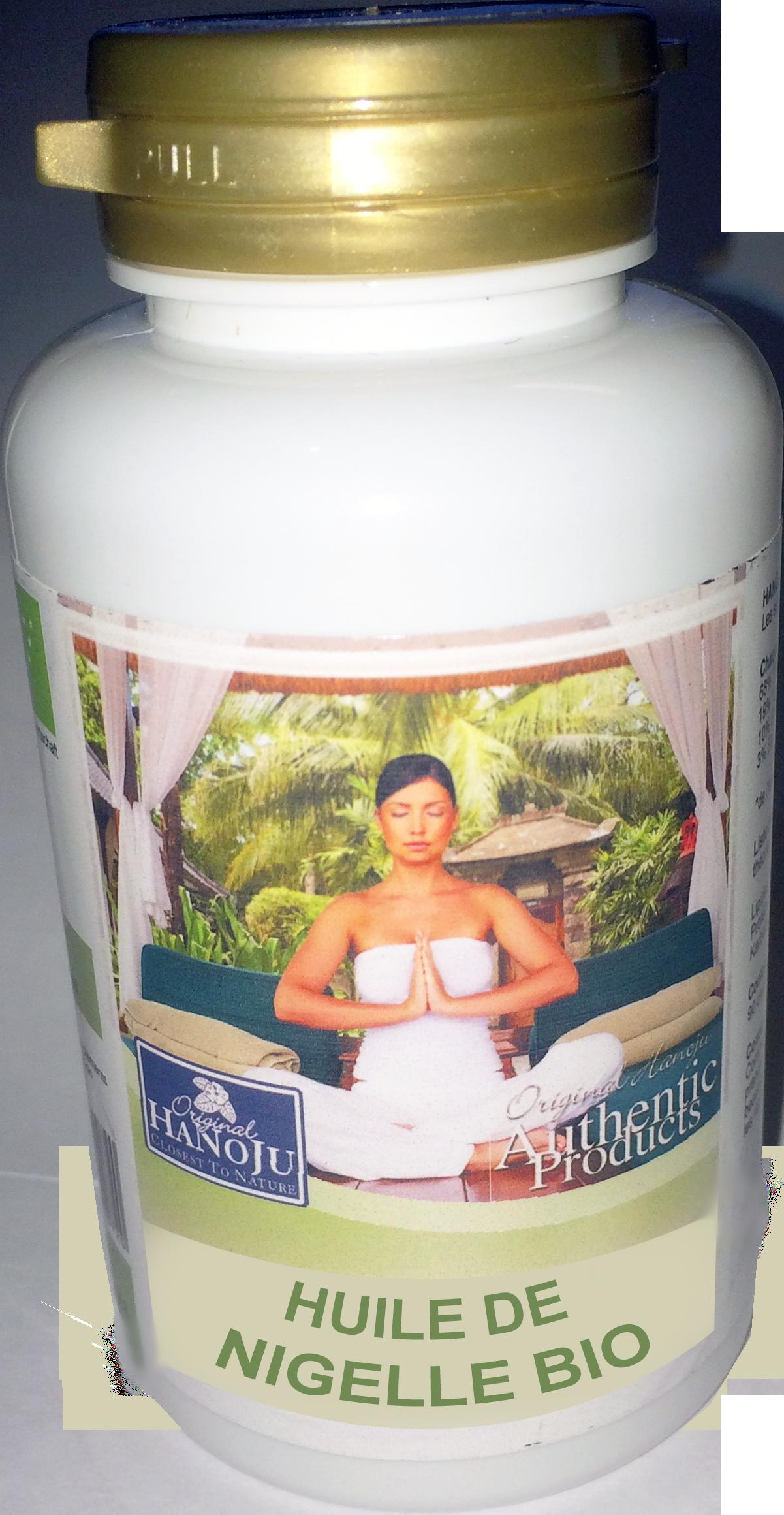 Huile de Nigelle bio - 90 gélules - 500 mg