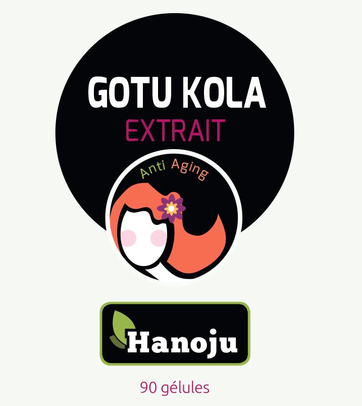 Gotu Kola - extrait 10:1 - Centella Asiatique - 90 gélules - 500 mg