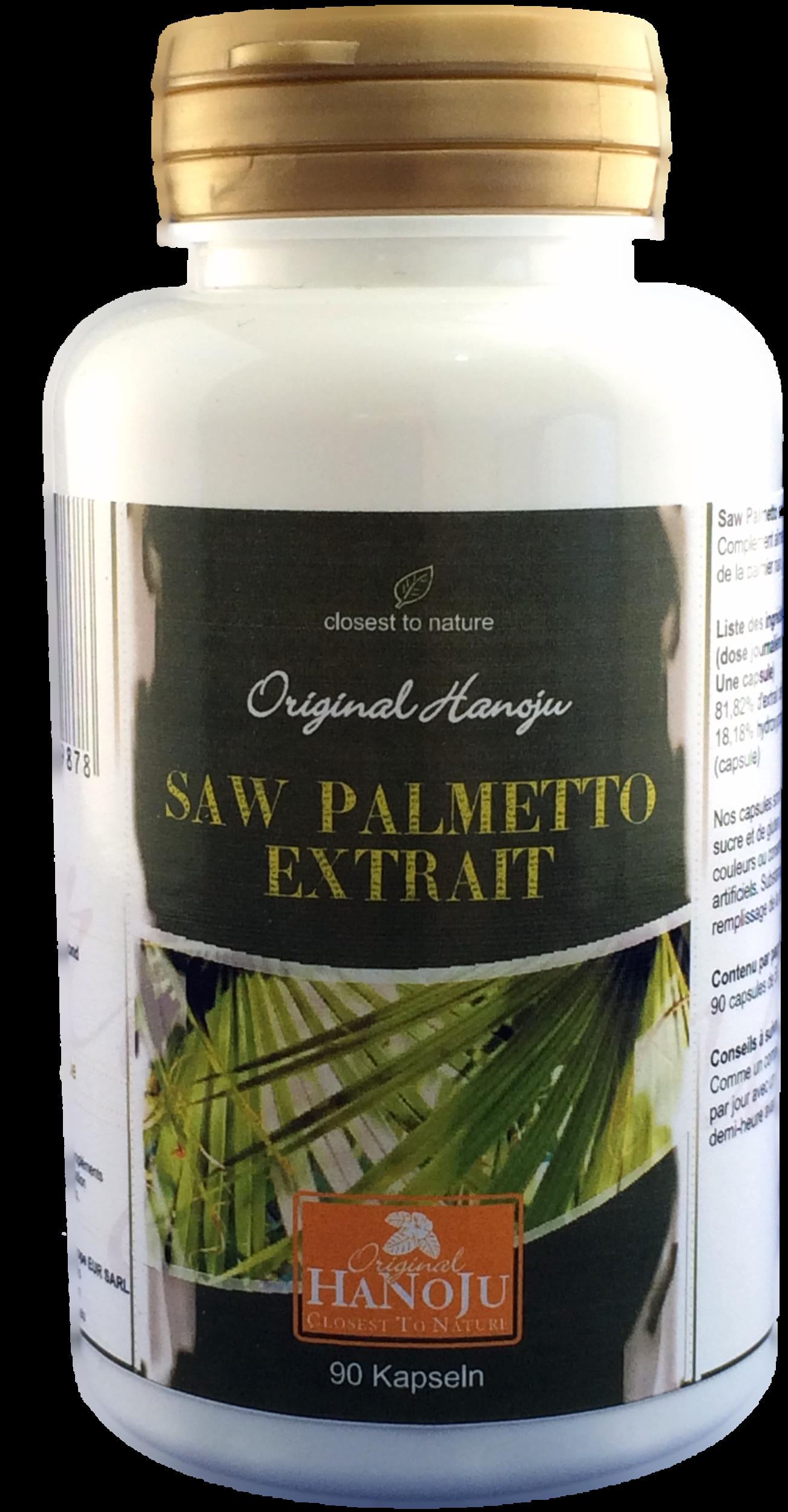 Palmier nain - 90 gélules - 550 mg