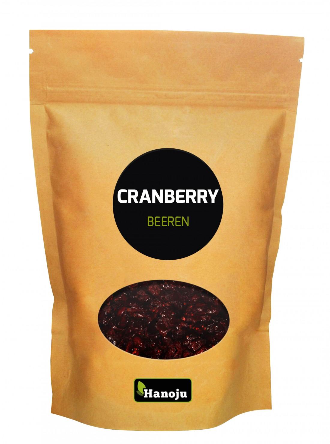 Baies de Cranberries séchées - canneberge - 1 kg