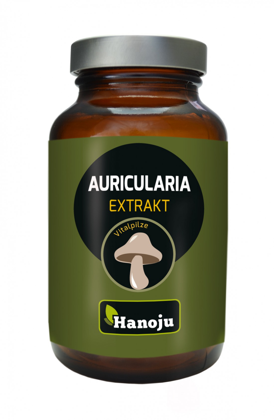 Oreille de Judas - Auricularia - Extrait de Champignon - 450 mg - 90 comprimés