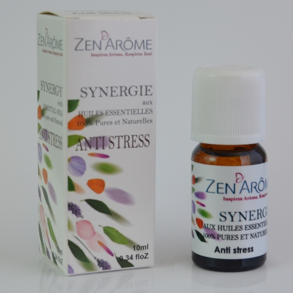 Synergie d\'Huiles Essentielles - Antistress- 10 mL