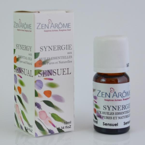 Synergie d\'Huiles Essentielles - Sensuel - 10 mL
