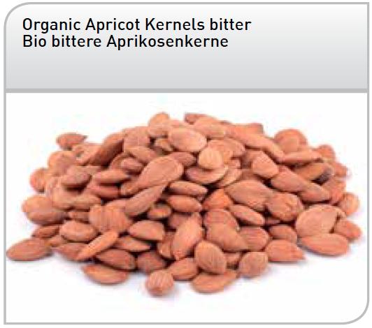 Amandons d'abricots amers Bio