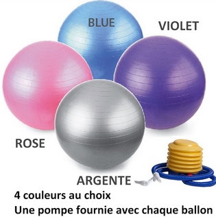 Ballons de yoga 65 cm