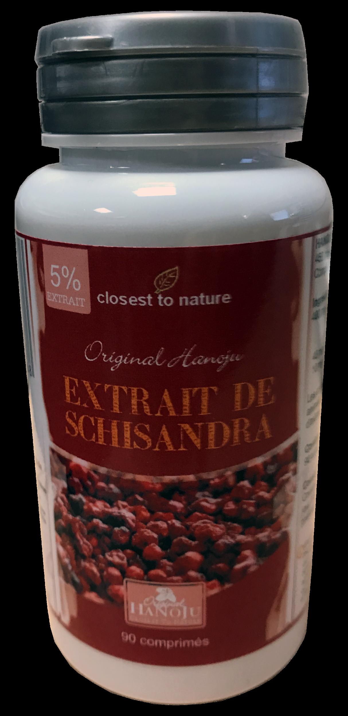 Extrait de Schisandra - 90 comprimés - 450 mg