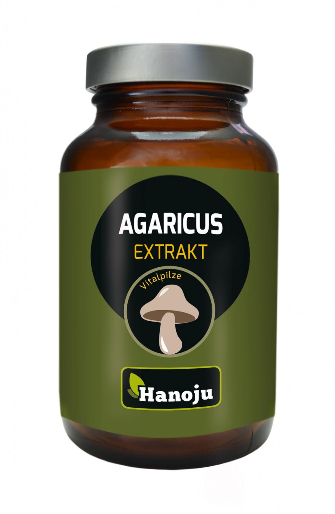 Agaricus - Extrait de Champignon - 450 mg - 90 comprimés