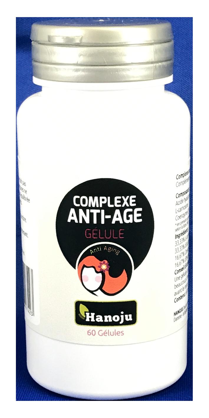 Complexe anti-âge - 60 gélules à 600 mg