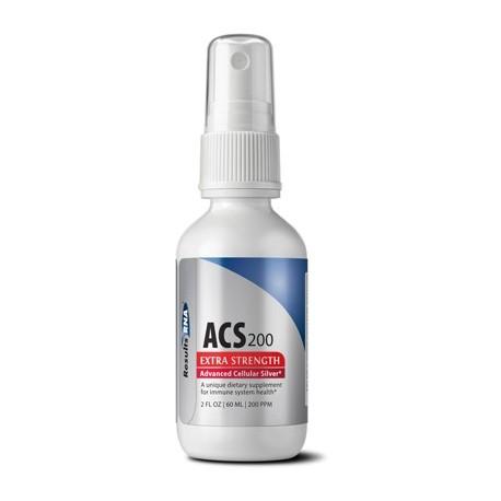 Argent colloïdal cellulaire avancé ACS à 200 ppm - Spray de 60 ml
