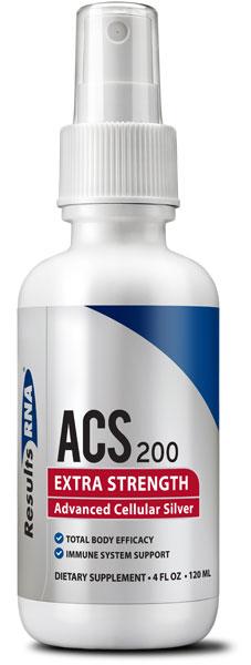 Argent colloïdal cellulaire avancé ACS à 200 ppm - Spray de 120 ml