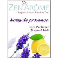 Cire parfum notes de provence