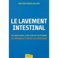 Livre -Le lavement intestinal - Dr Roger Halfon