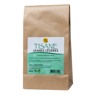 Tisane jambes légères - 150 g